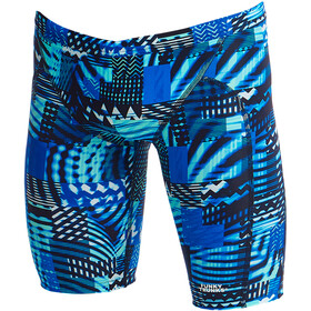 Funky Trunks Training Bañador Jammer Niños, electric nights